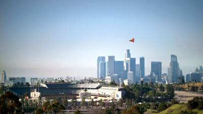 Escena del video de promoción turística.