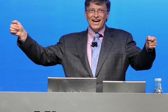 1.- Por segundo año consecutivo, Bill Gates llega a estar en el tope de...