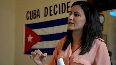 """La elección de Díaz-Canel es """"la continuidad de una dictadura"""": opositora cubana Rosa María Payá"""