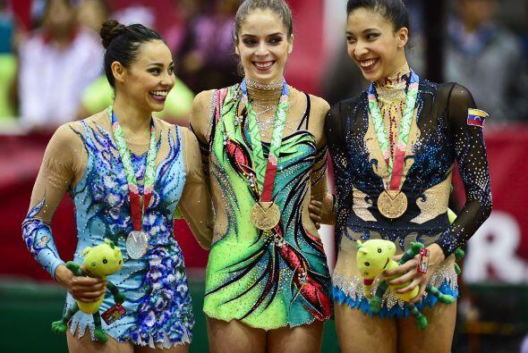 La delegación mexicana se adjudicó cuatro medallas de oro en la gimnasia...