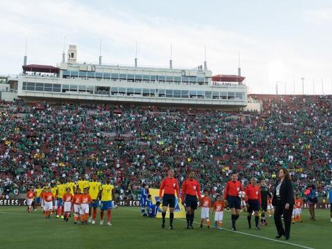La entrada para ver el México vs. Ecuador fue fenomenal en el Est...