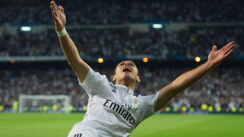 El delantero mexicano le dio el pase al Real Madrid a las semifinales de...
