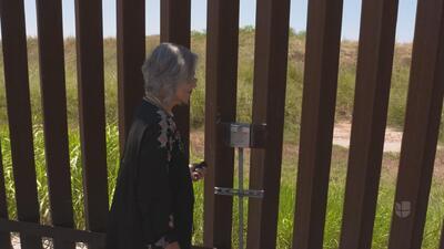 Esta es la razón por la que una hispana tiene las llaves de la frontera entre México y EEUU