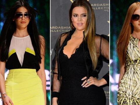 La menor de las hermanas Kardashian, Khloe desfiló impecable por...