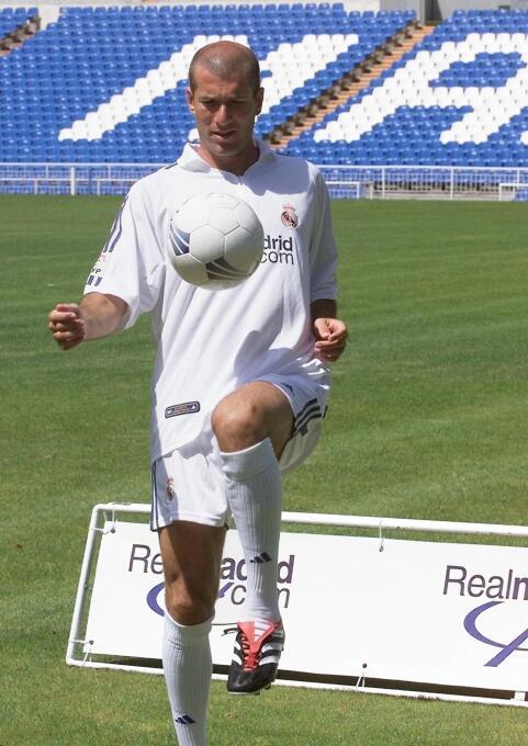 Enhorabuena, Míster Merengue Zinedine Zidane GettyImages-111343762.jpg