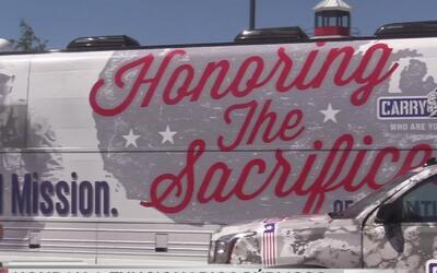 Caravana para recordar a funcionarios públicos llega a San Antonio