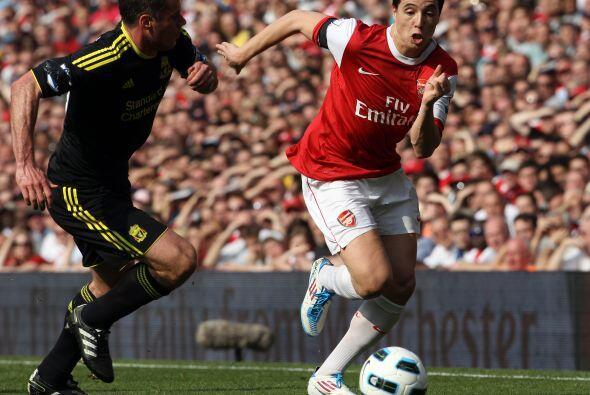 En caso de que obtuvieran la victoria, Arsenal se habría colocado a cuat...