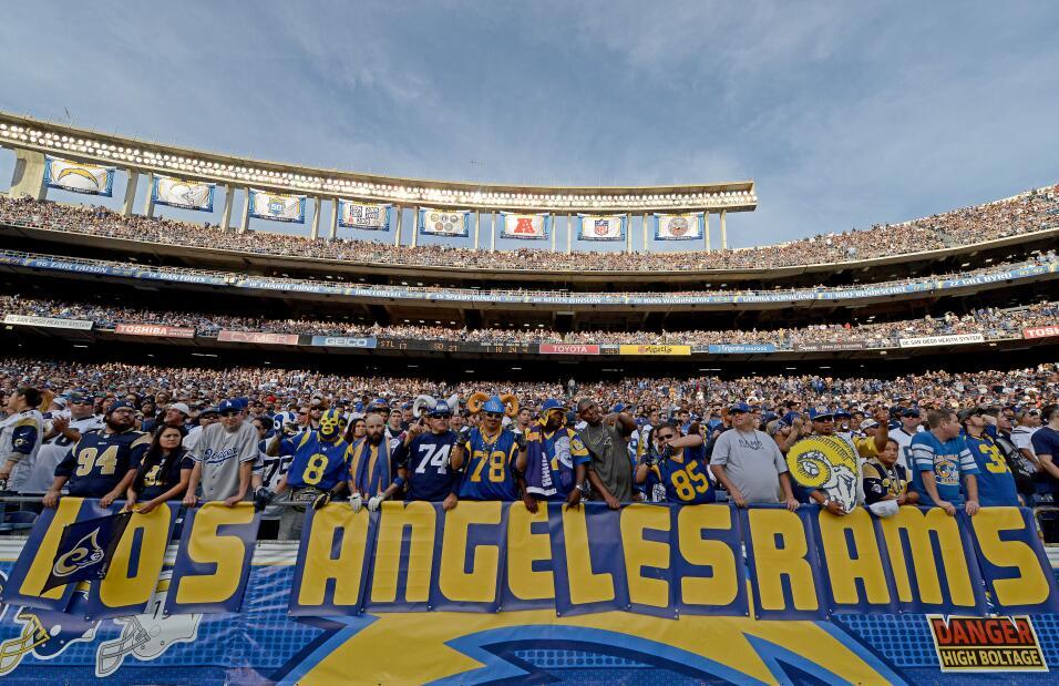 Fans de Rams pidieron en 2014 su regreso a Los Ángeles