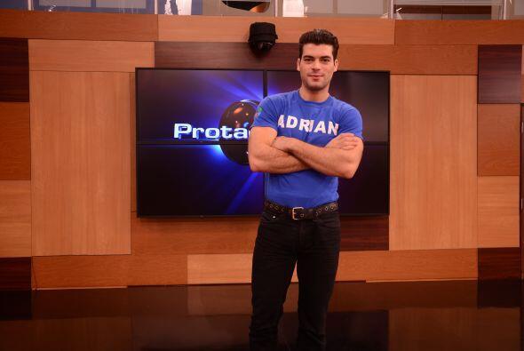Adrián odia el conflicto por eso se mantiene alejado del drama y el fren...