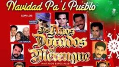 No te pierdas el mejor concierto de la temporada, Navidad Pa'l Pueblo en...