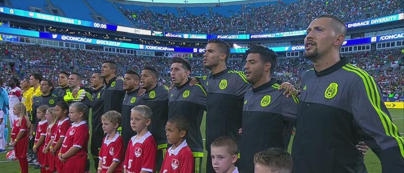 Calificamos a México contra Trinidad.