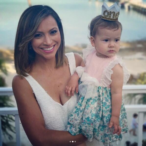 Sasha Pretto y su hija Alana