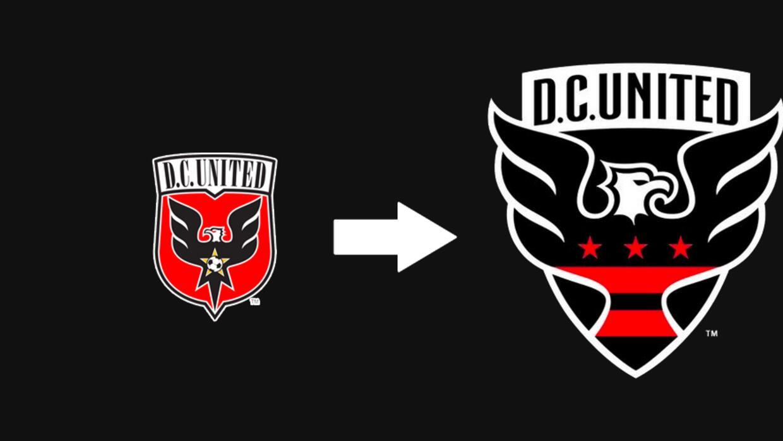 Evolución del escudo de DC United