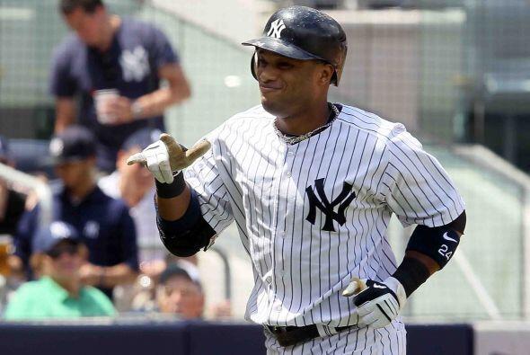El dominicano Robinson Canó, de los Yankees, segunda base titular de la...