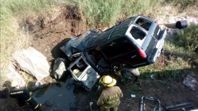 En fotos: así fue el último accidente del regional mexicano, un género marcado por la tragedia en carretera