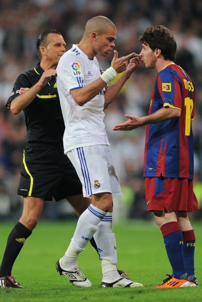 Al portugués del Real Madrid Pepe se le identifica por muchas faltas y p...