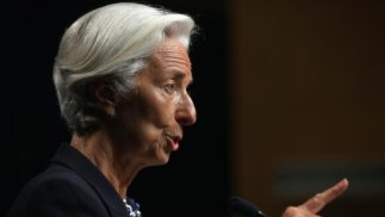 La directora gerente del Fondo Monetario Internacional,Christine Lagarde.