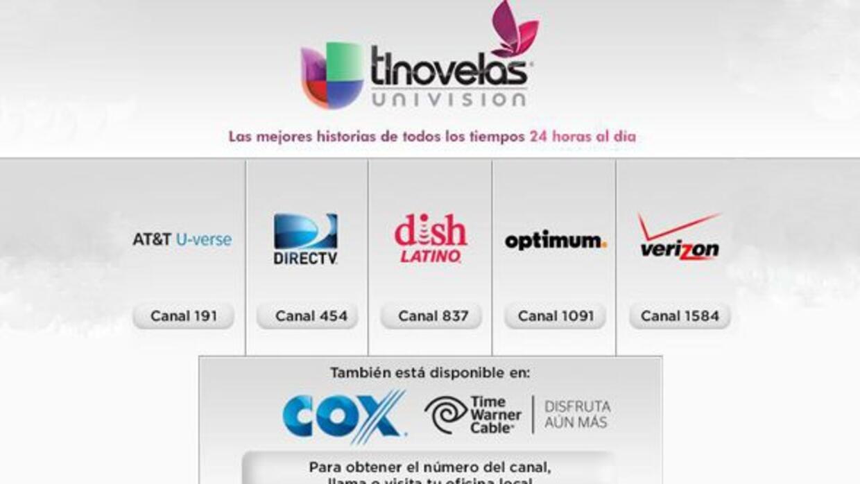 ¡Y convierte a Univision tlnovelas en parte de tu hogar!
