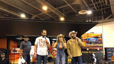 El Free-guey show visitó Houston por primera vez