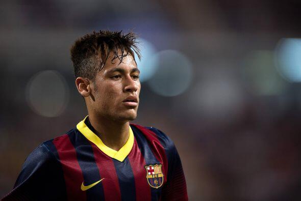 Neymar es sin duda la cara novedosa que más reflectores atrae hasta el m...