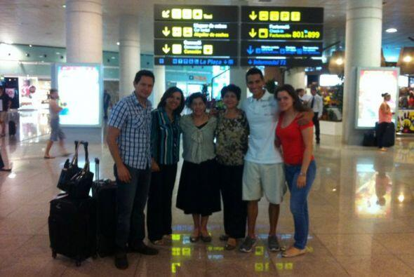 Los invitados comenzaron a llegar a Barcelona, entre ellos se encuentra...