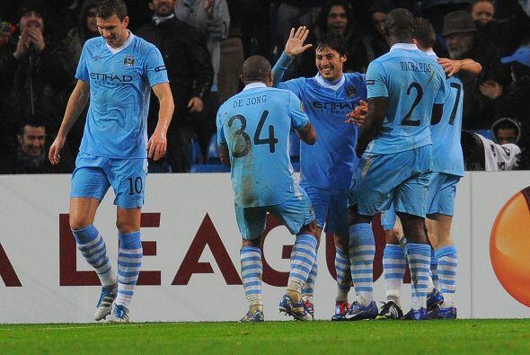 Ahora el Manchester City se enfrentará al ganador del duelo entre el Spo...