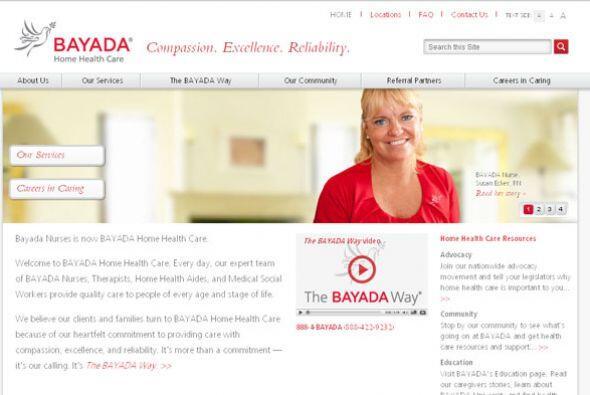 BAYADA HOME HEALTH CARE Cantidad de puestos disponibles: 300+. Ejemplos...
