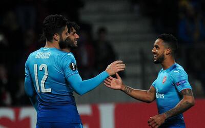 Arsenal goleó sin problemas al BATE