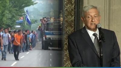AMLO promete visas de trabajo para que migrantes se queden en México