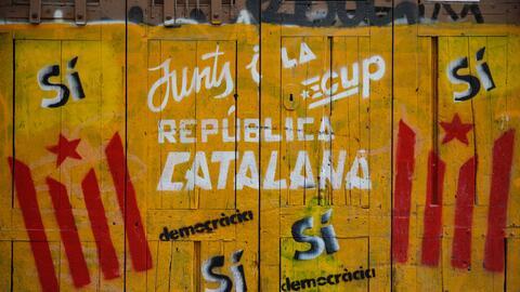 Cataluña está en una encurcijada sobre su independencia de...