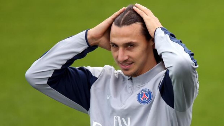 Zlatanse había lesionado en la victoria 2-0 ante el Bastia de la segund...