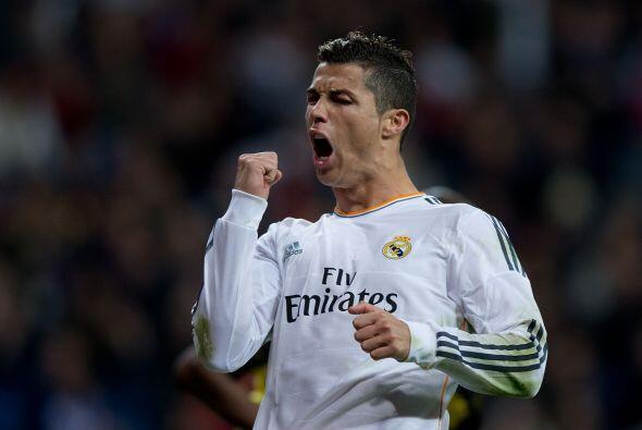 La temporada pasada 2013-2014 volvió a ser propiedad de Cristiano...