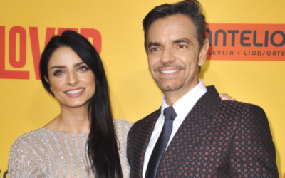 Eugenio Derbez y su hija en la alfombra roja de 'How to be a Latin Lover'