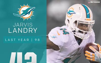 #42: Jarvis Landry (WR, Dolphins) | Top 100 Jugadores 2017