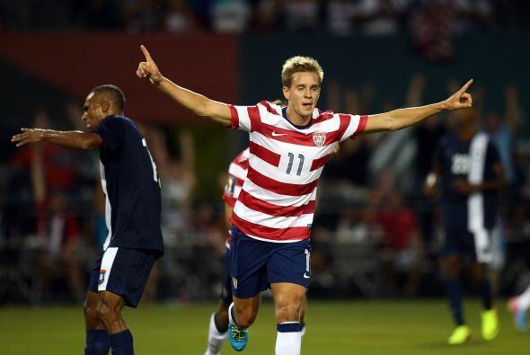 Estados Unidos goleó a Belice y el momento clave del partido, fue...