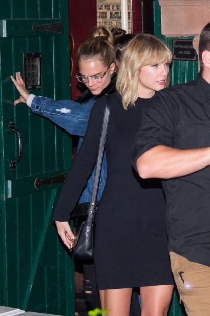 Taylor Swift, Cara Delevingne y Dakota Johnson juntitas