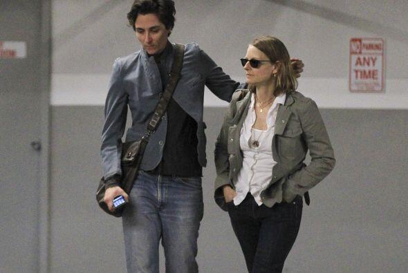 Alexandra se vio persistente al intentar volver abrazar a Jodie.Mira aqu...