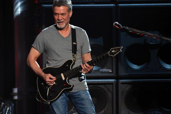 La banda Van Halen fue el primer número musical de la noche.