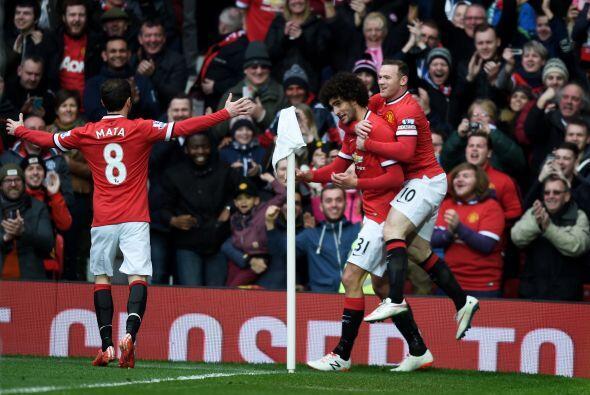 Con este resultado Manchester se coloco en cuarto lugar general y amenaz...