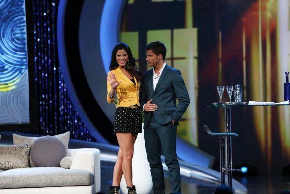 El actor Maxi Iglesias se unió a Nuestra Belleza Latina.