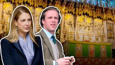 Tercera boda en la realeza británica: un año después de Meghan Markle se casa Gabriella
