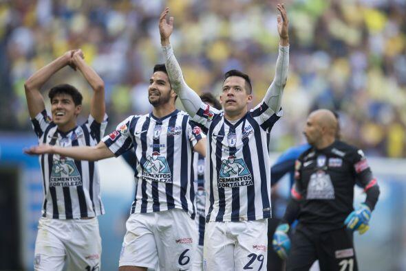 Pachuca les siguió con 25, mismo número que Santos e incluso Cruz Azul q...