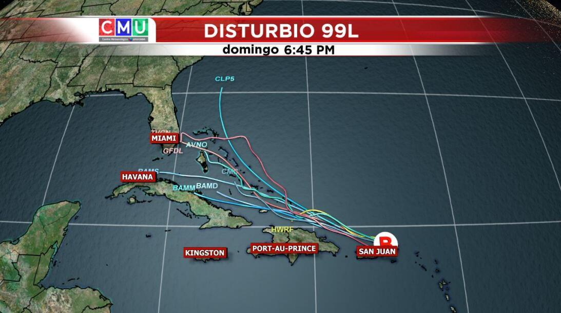 Puerto Rico está en alenta ante el paso del disturbio tropical por la zo...