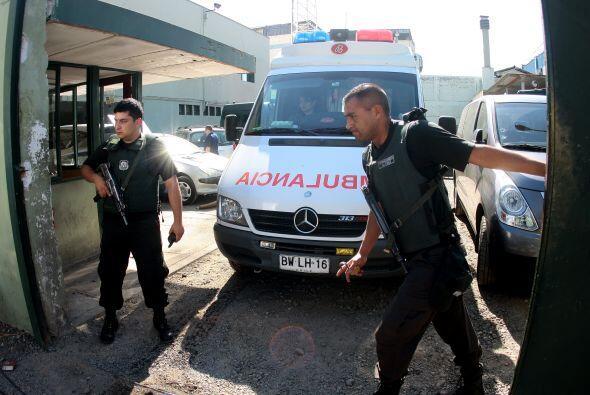 También señalaron ante medios de comunicación que la policía de la prisi...
