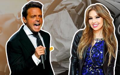 Thalía y Luis Miguel.