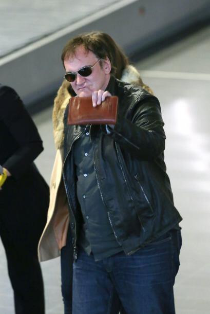 Al final Tarantino se dio tiempo de saludar a sus fans.Mira aquí los vid...