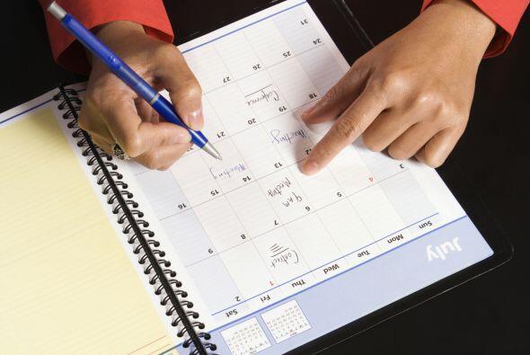 Por eso lo mejor es organizar tu tiempo, revisar prioridades y darle sal...