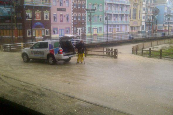 El equipo de Univision 65 se desplazó hasta la zona de Atlantic City, do...