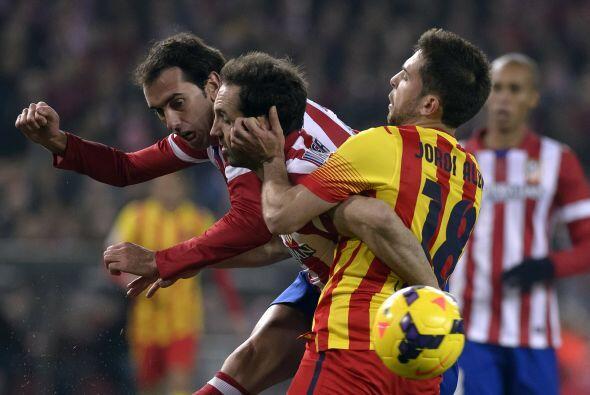 Los culés empataron con el Atlético en el Vicente Calderón, pero tendrán...