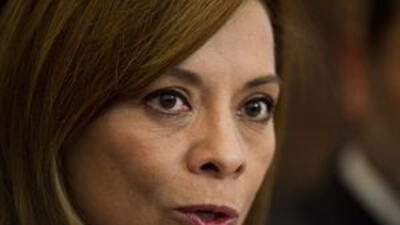 La aspirante a la Presidencia de México, Josefina Vázquez Mota.